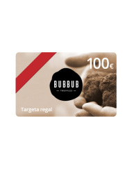 Targeta regal 100 euros Bubbub