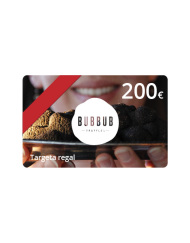 Targeta regal 200 euros Bubbub